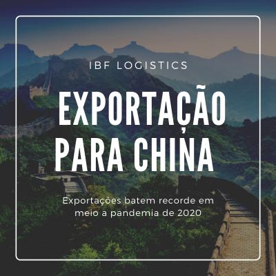 Exportação China